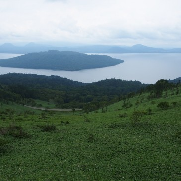 美幌峠から屈斜路湖の絶景を一望!