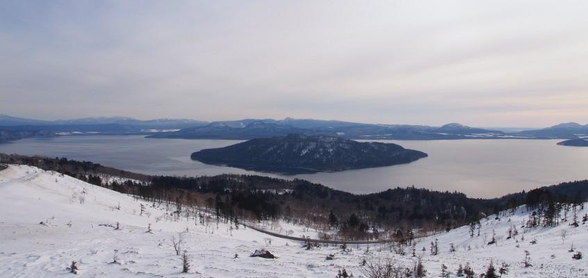 美幌峠の雪景色!これが冬の北海道
